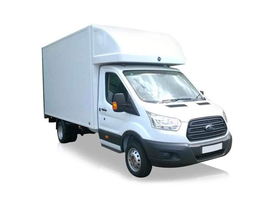 Luton box van hire with tail lift