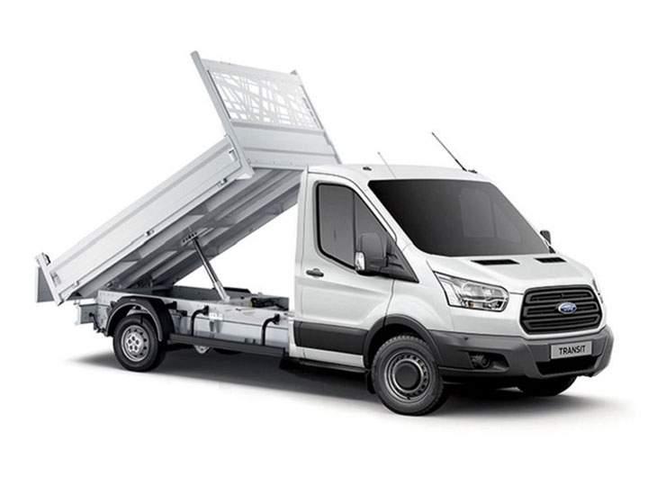 short term tipper truck hire newbury